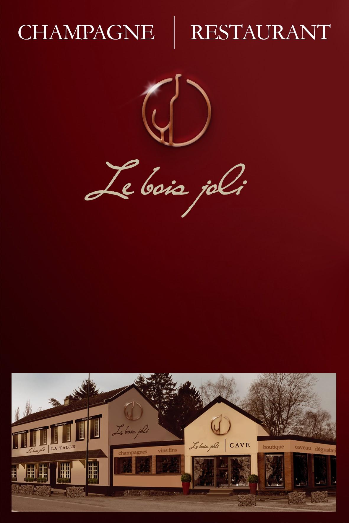 Logo Cave du Bois Joli, Ludovic Paste, Epernay